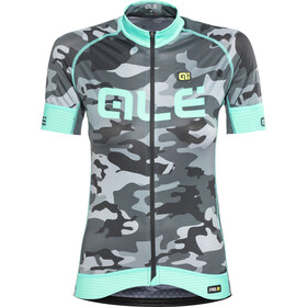 Alé Cycling Graphics PRR Camo SS Jersey Women black-turquoise